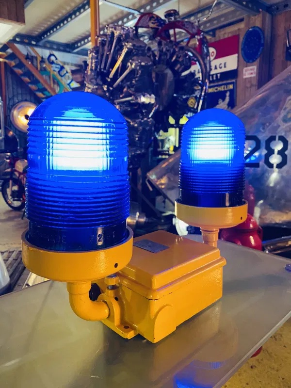 Lampe collection aviation