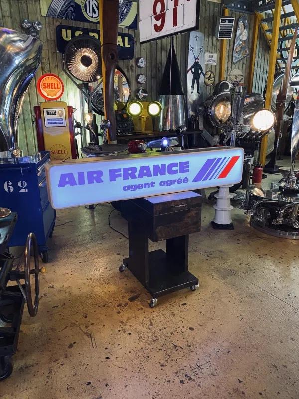enseigne lumineuse Air France