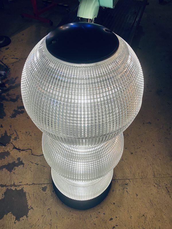 lampe vintage verre