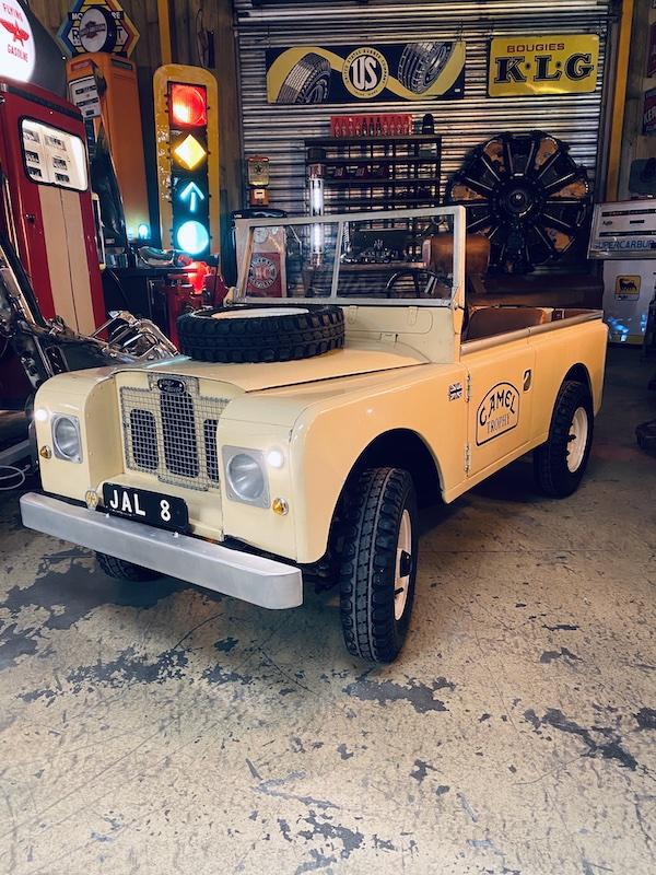 Land Rover Defender décoration