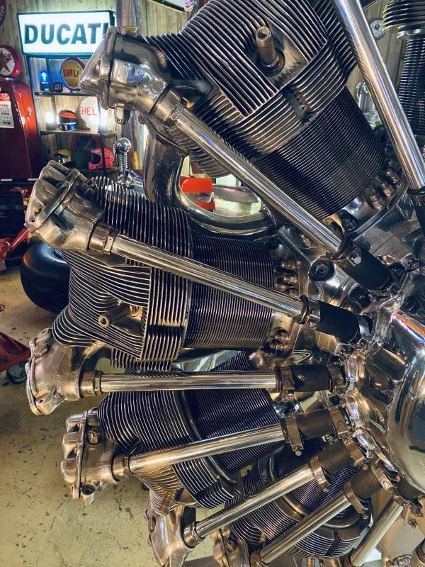 moteur d'avion décoration