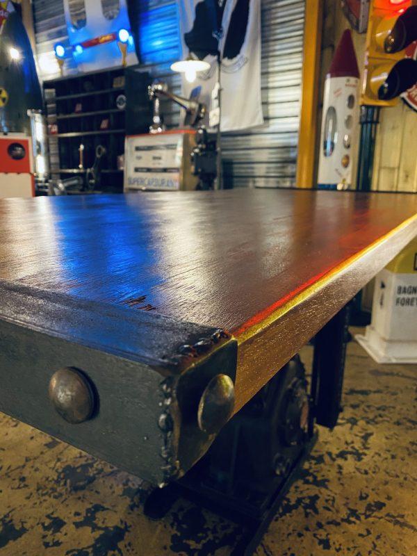 table industrielle meuble métier