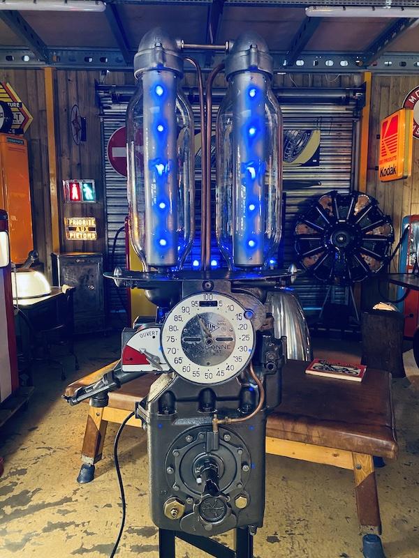 collection pompe à essence