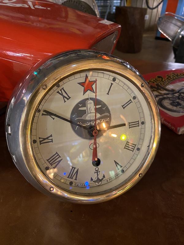 Horloge marine ancienne