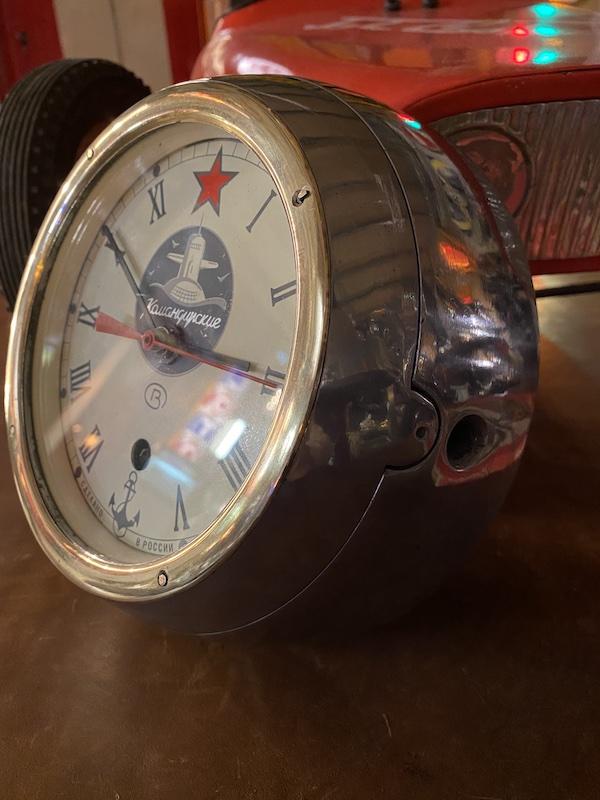 pendule en fonte d'aluminium
