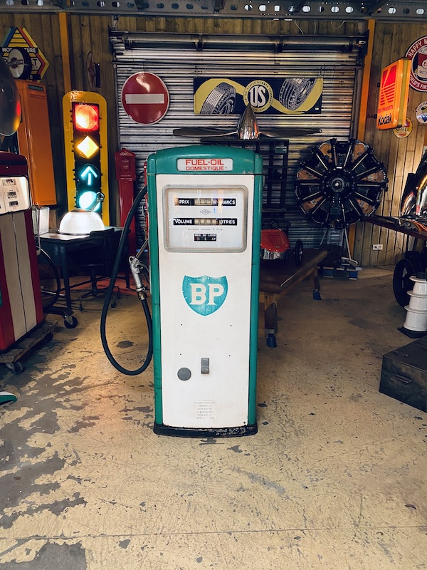 Pompe à essence loft