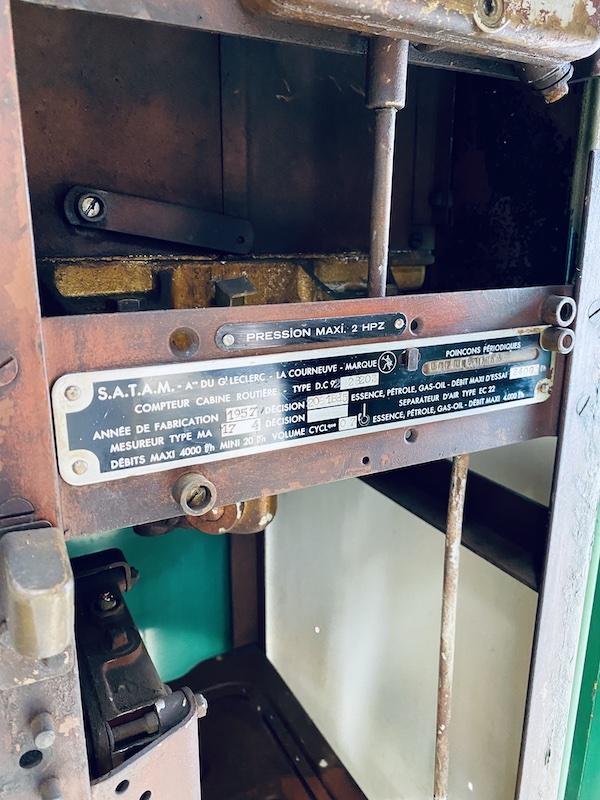 Pompe à essence décoration
