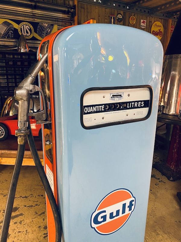 pompe à essence américaine
