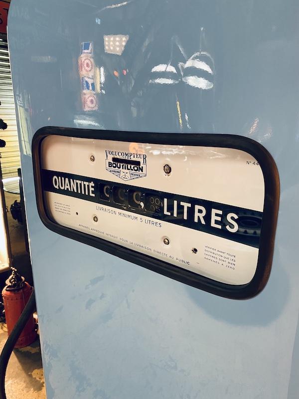 pompe à essence gulf gasoline