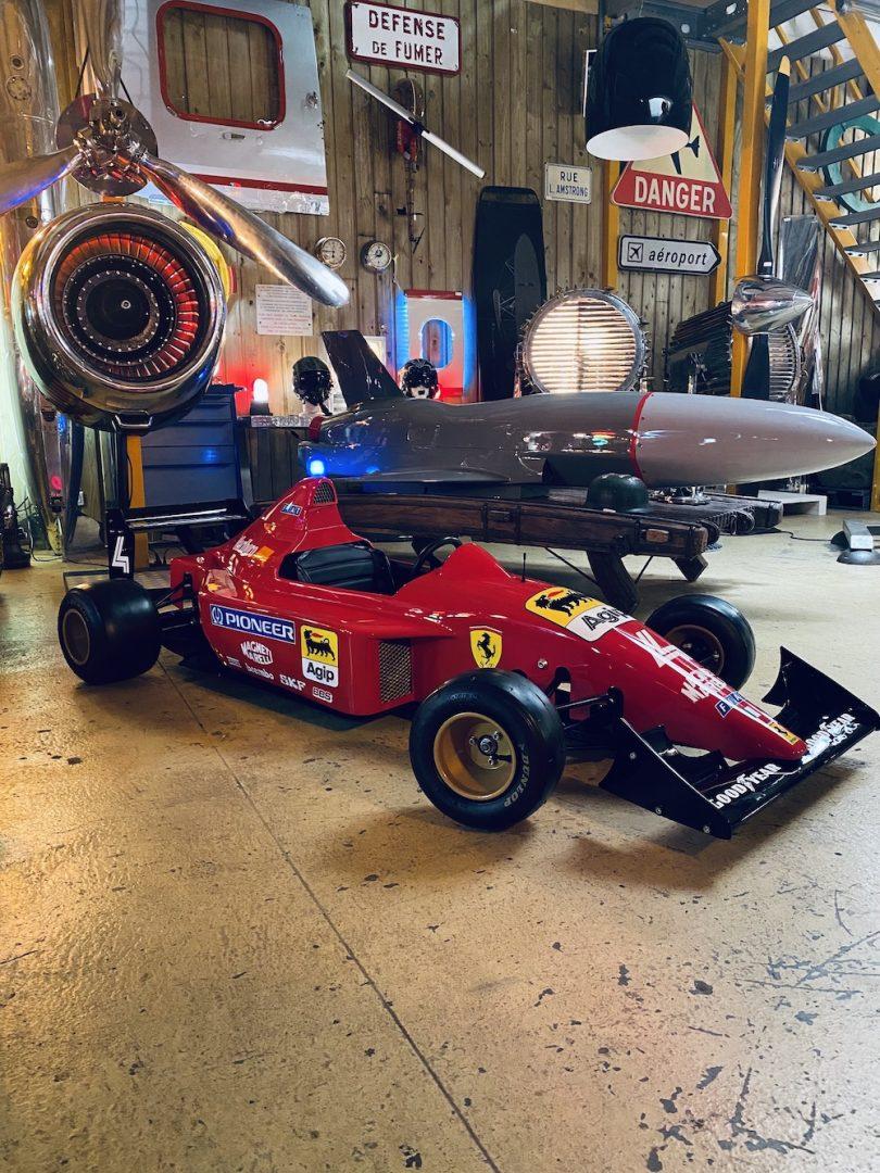 Formule 1 décoration