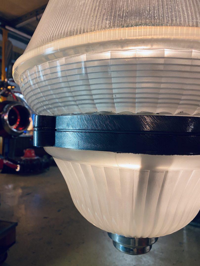 suspension industrielle lustre