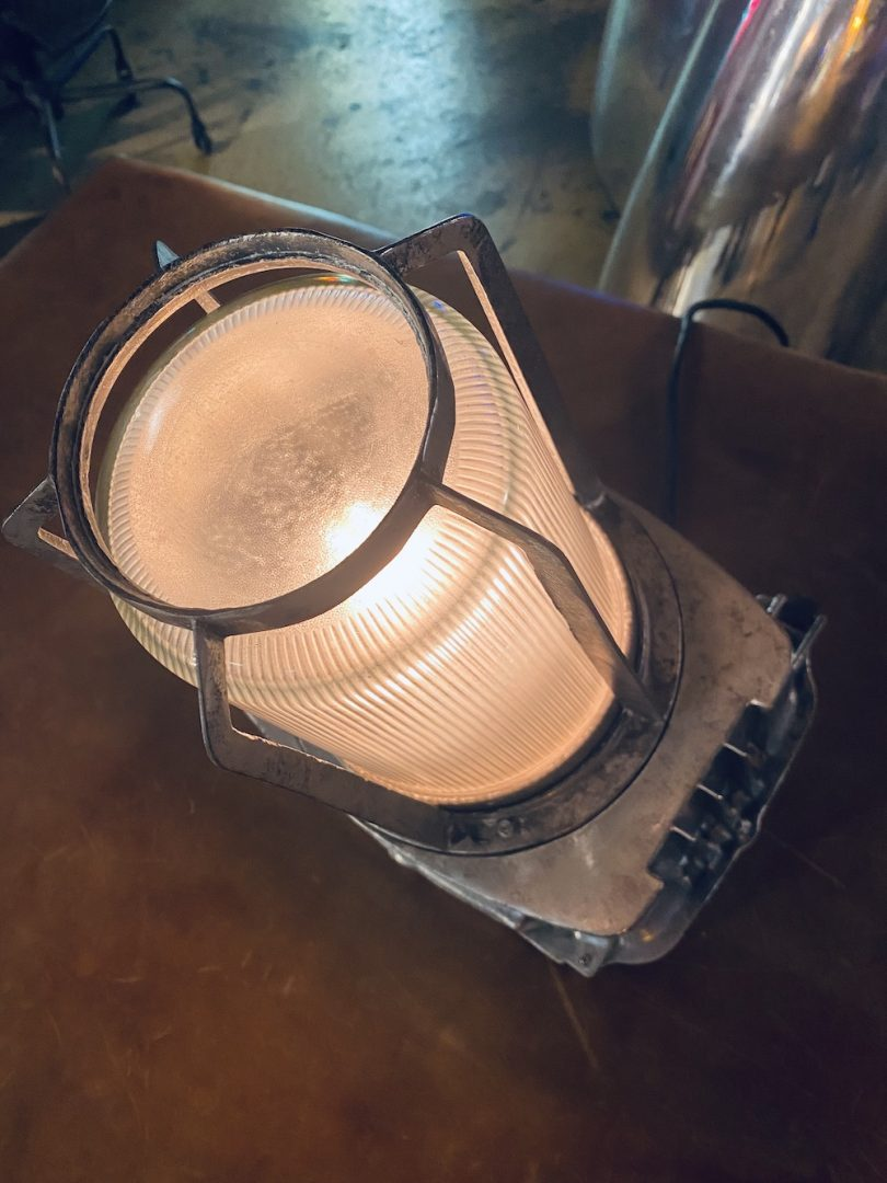 lampe coursive de bateau