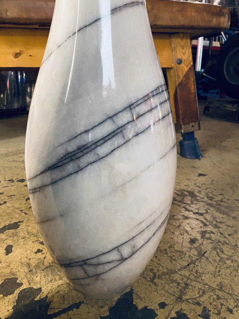 Quilles en marbre design