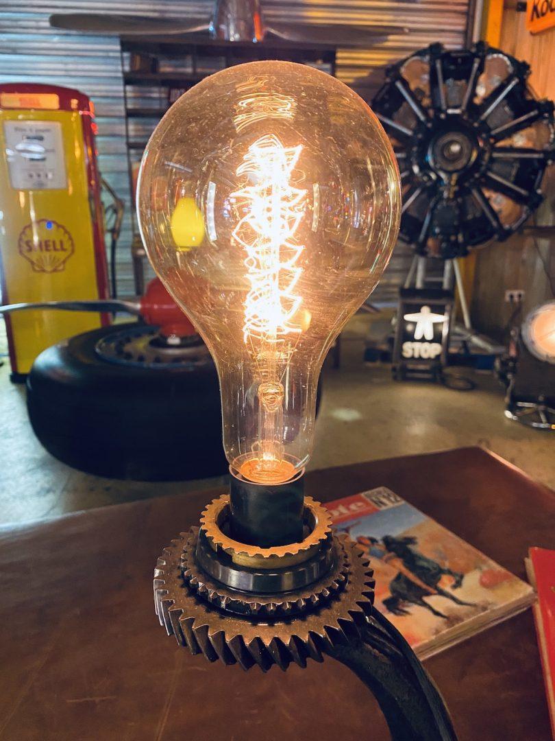 Lampe déco industrielle