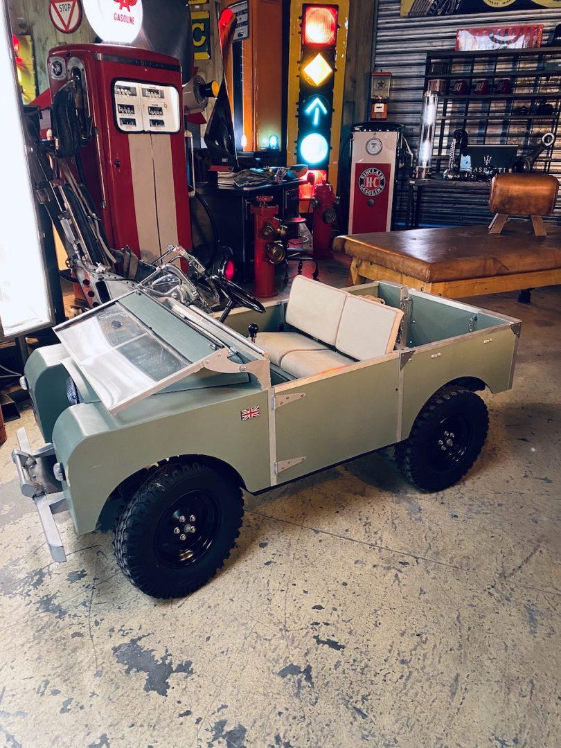 jouet ancien land rover